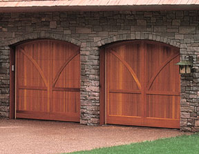 Carriage House Mountain Fox Doors