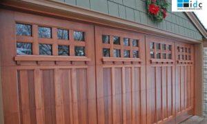 Custom Wood Mountain Fox Doors